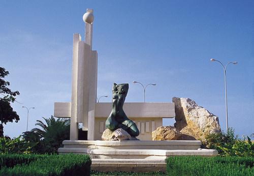Памятник климату в Дении, Испания