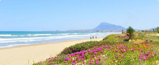 Красивое побережье Испании